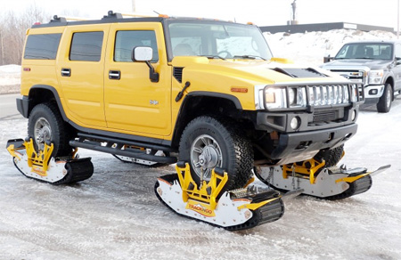 Winter Tracks for your Car