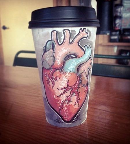 Coffee Cup Artist