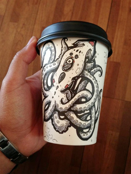 Coffee Cup Artwork