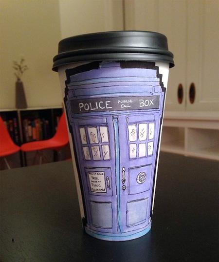 Coffee Cup Drawings