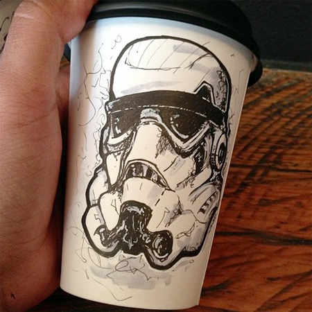 Amazing Coffee Cup Art
