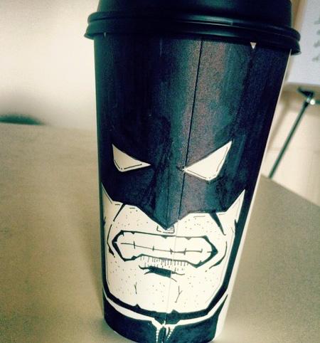 Creative Coffee Cup Art