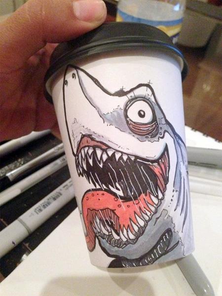 Beautiful Coffee Cup Art