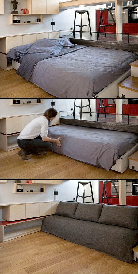 Hidden Bed