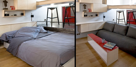 Disappearing Bed