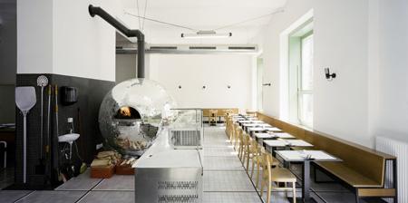 Disco Ball Pizza Oven