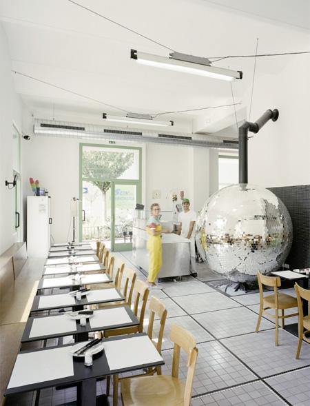 Disco Ball Oven