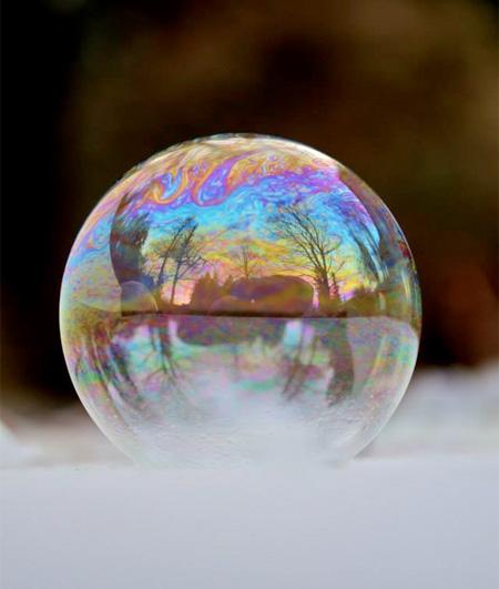 Frozen Bubbles by Angela Kelly