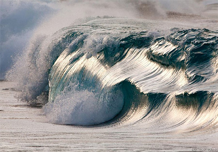 Frozen Ocean Wave