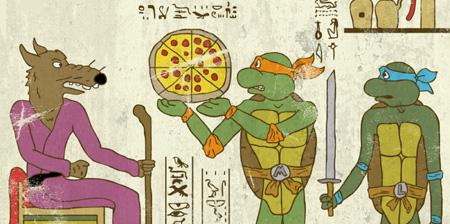 Ancient Drawings of Modern Heroes