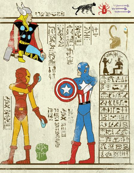 Ancient Superheroes