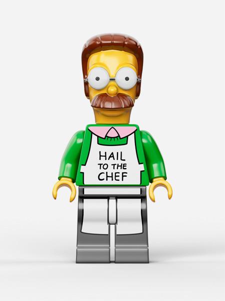 Simpsons Themed LEGO Set