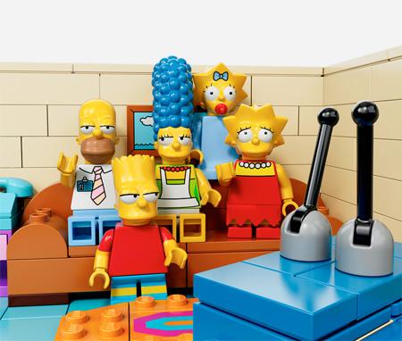 Simpsons Themed LEGO