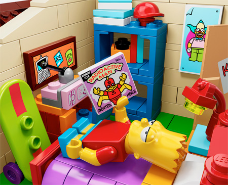 Simpsons LEGO Minifig