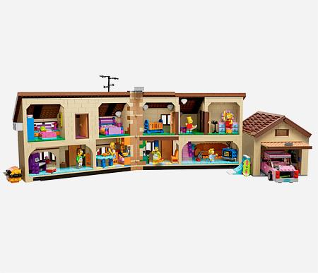 Simpsons House LEGO