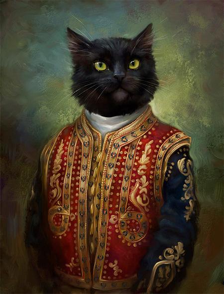 Royal Cats by Eldar Zakirov