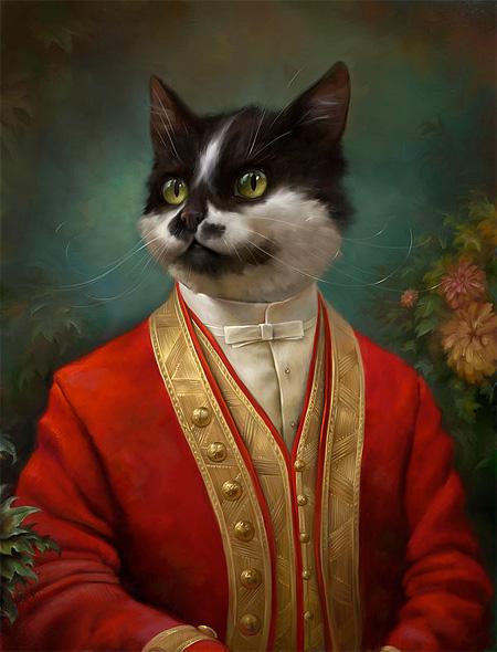 Royal Cat by Eldar Zakirov