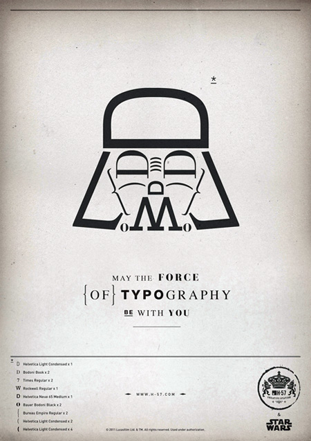 Star Wars Typography