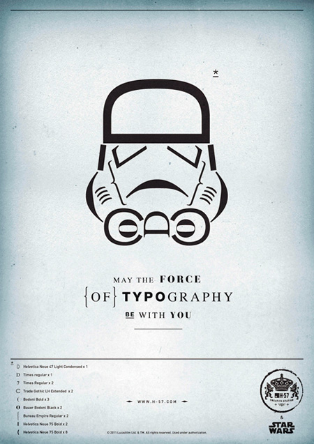 H-57 The Force of Typography