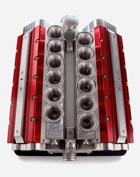 V12 Engine Coffee Maker