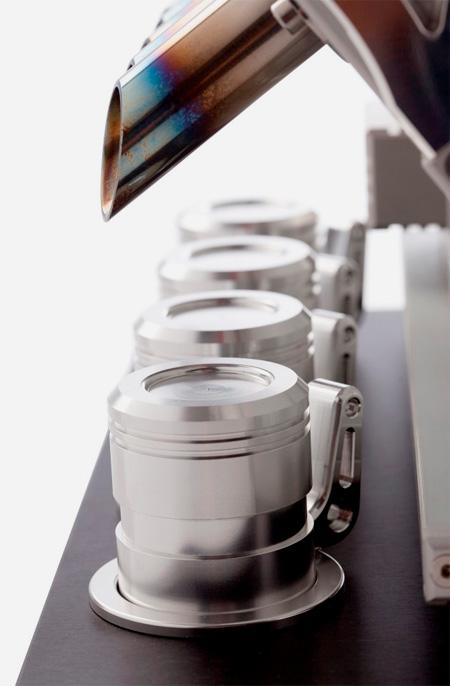 V12 Engine Coffeemaker