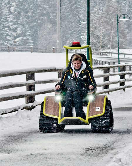 Snow Wheelchair
