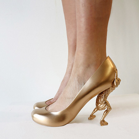 Shoes by Sebastian Errazuriz