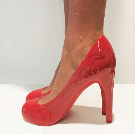 3D Printed Shoes by Sebastian Errazuriz