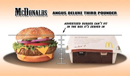 Ads vs Real Food