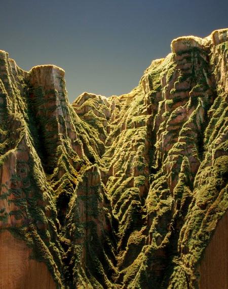 Mountain Carved into Encyclopedia Britannica