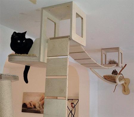 Cat furniture for Tiragraffi ikea