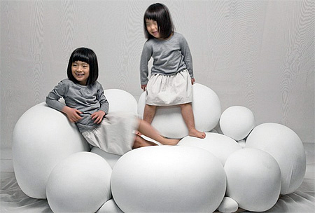 Cloud Sofa by Kei Harada