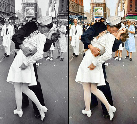 Colourized Black and White Photos