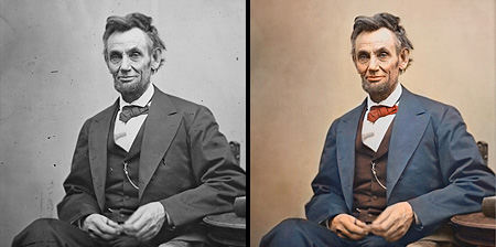 Colorized Black and White Photos