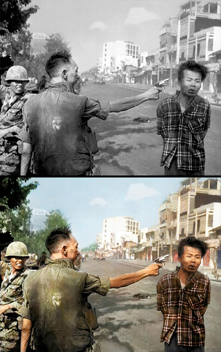 Colourized Photos