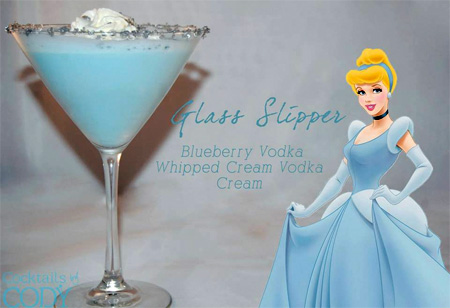 Disney Character Cocktails
