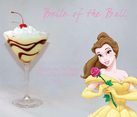 Disney Themed Cocktail