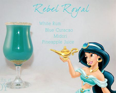 Disney Cocktails by Cody