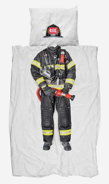 Firefighter Bed Sheets