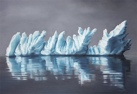 Finger Paintings by Zaria Forman