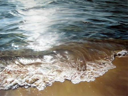 Iceberg Painting by Zaria Forman