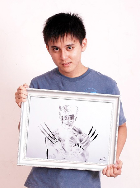 Inverted Drawings by Brian Lai