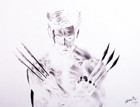 Negative Drawings by Brian Lai