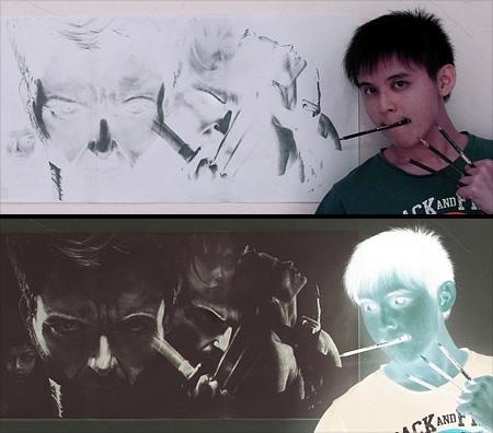 Inverted Art