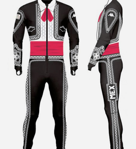Olympics Mariachi Suit