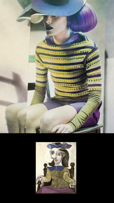 Pablo Picasso Fashion