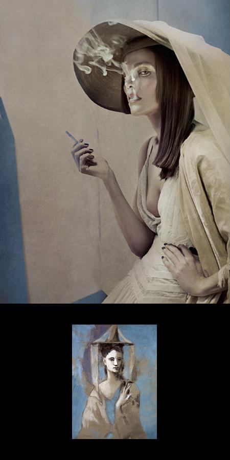 Pablo Picasso Inspired Fashion