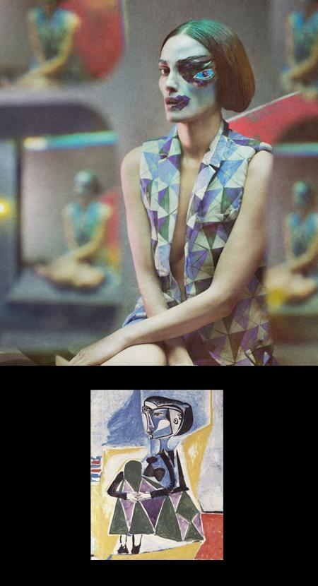 Picasso Fashion by Eugenio Recuenco