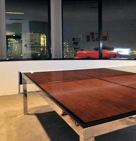 Tennis Table by Ryan Vanderbilt