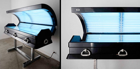 Tanning Bed Coffin